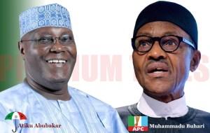 Atiku Abubakar and Muhammadu Buhari