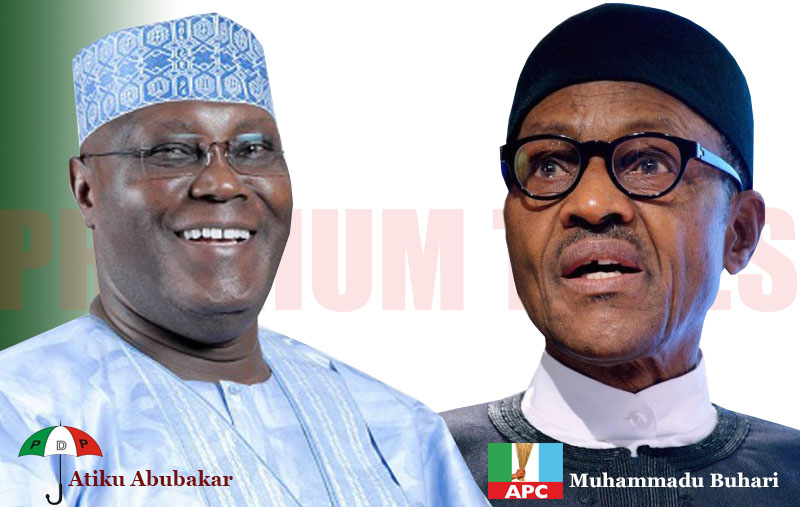 Image result for buhari vs atiku