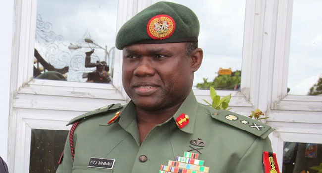 Lieutenant General Kenneth Minimah,