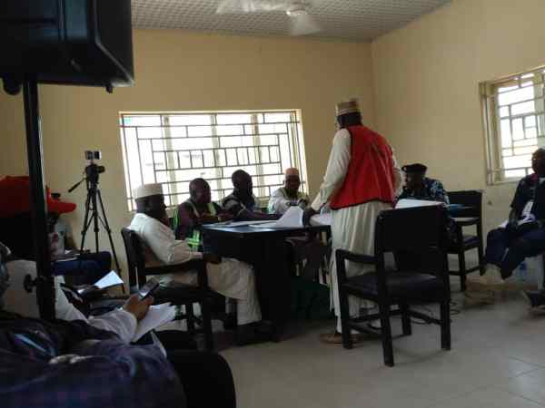 Collation has commenced at Kaduna North Local Government.