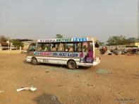The Vandalized campaign van