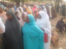 Women turn out en masse to vote in Kaduna