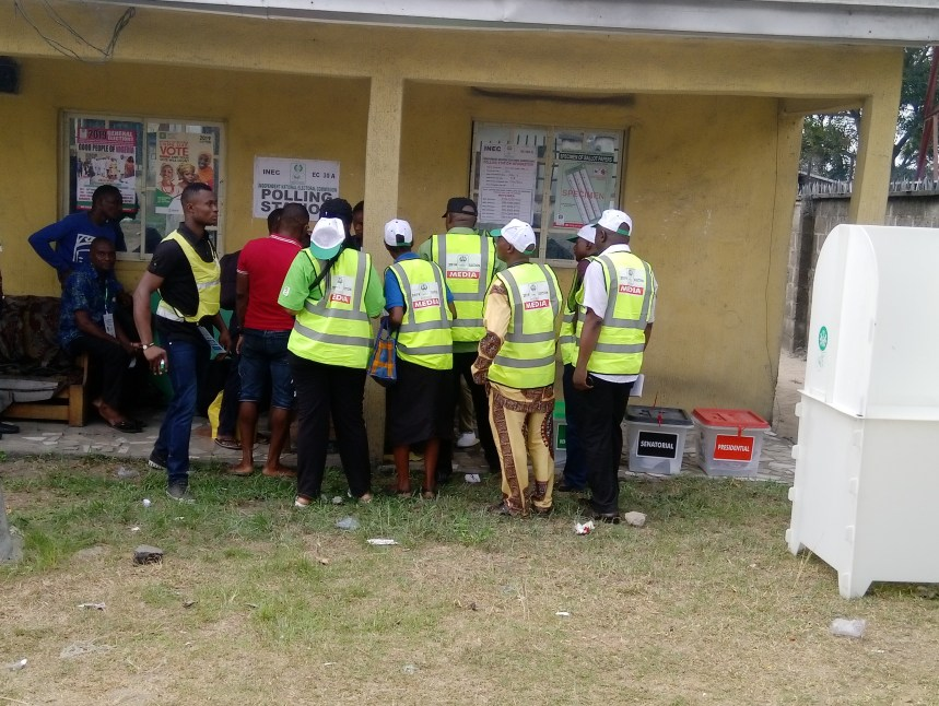 11:15 AM at PU 11, Ward 5, Ogun/Bolo LGA of Rivers State, low voter turnout is observed.