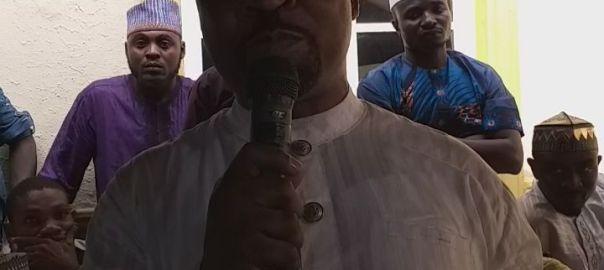 MC Oluomo at his thankgiving service at his Ejigbo, Lagos home