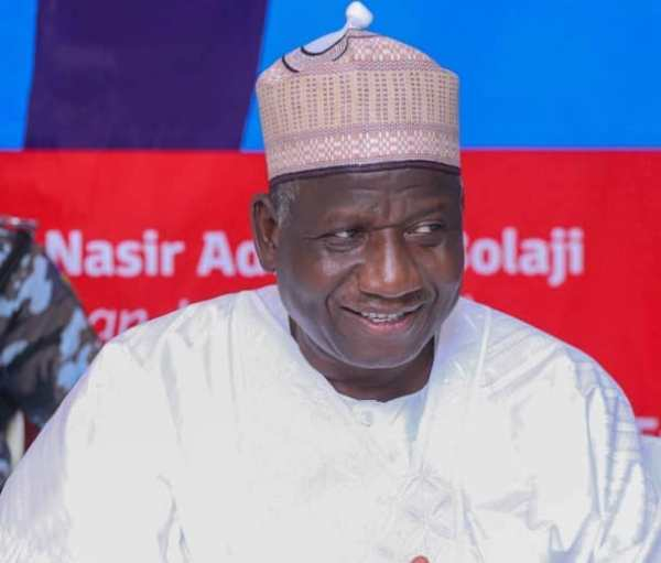 Sani Yusuf of the Action Democratic Party (ADP).