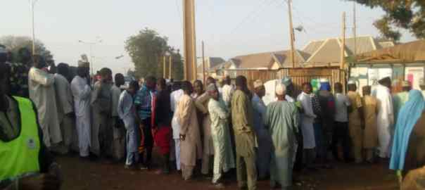 Voters in Bauchi