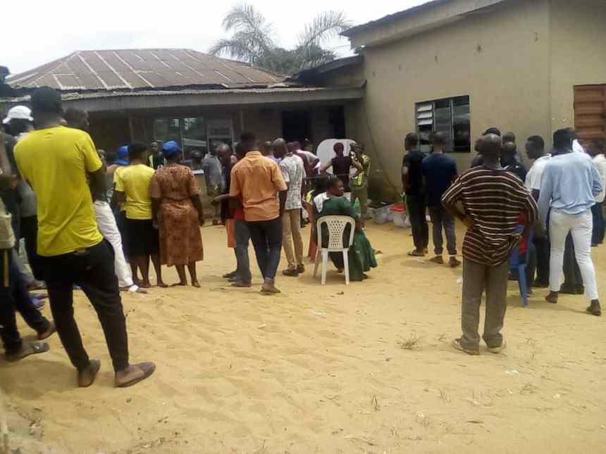 Unit 8, Ward 10. Itu LGA. Akwa Ibom. Voting ongoing peacefully and orderly