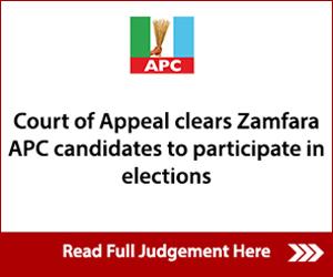 Zamfara APC Advert