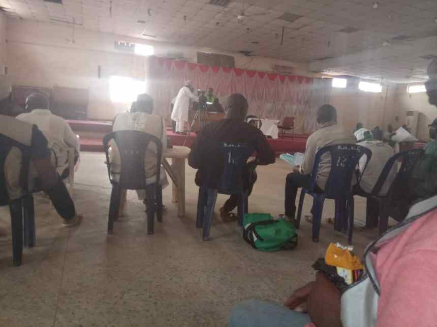 collation at Katsina senatorial district