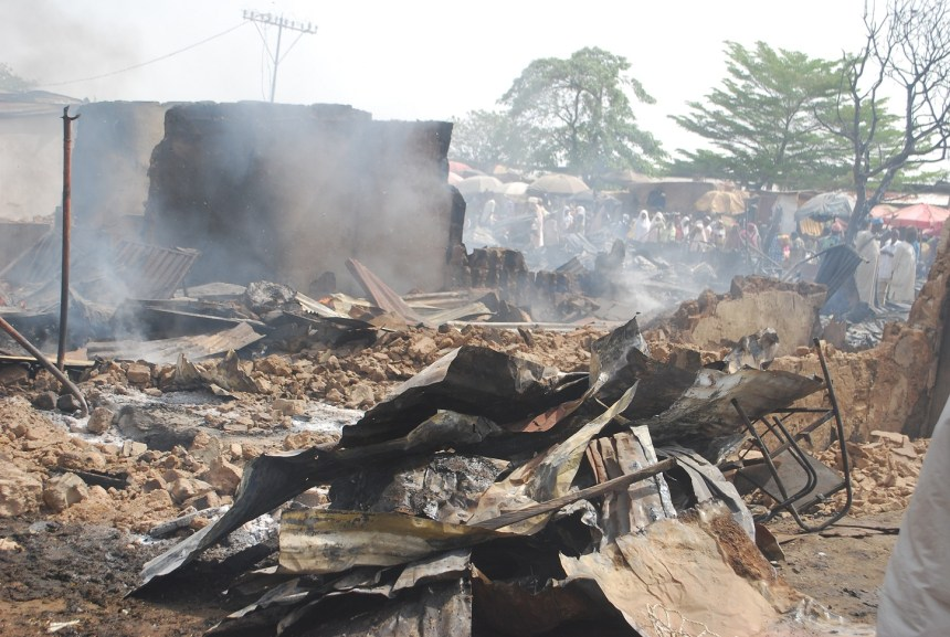 Picture of fire outbreak used to illustrate the story [FILE PHOTO]