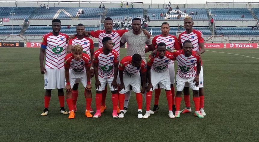 Nigeria's flag bearer in the CAF Champions League, Lobi Stars