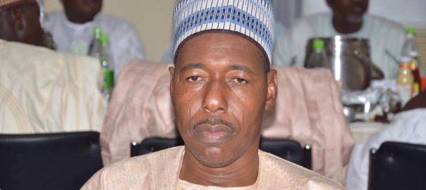 Borno governor, Babagana Zulum
