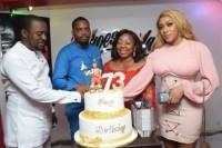 Florence Ita-Giwa celebrates 73rd birthday in Lagos