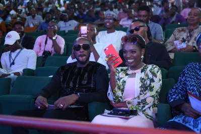 2baba and wife, Annie Idibia. [Photo: 2Baba]