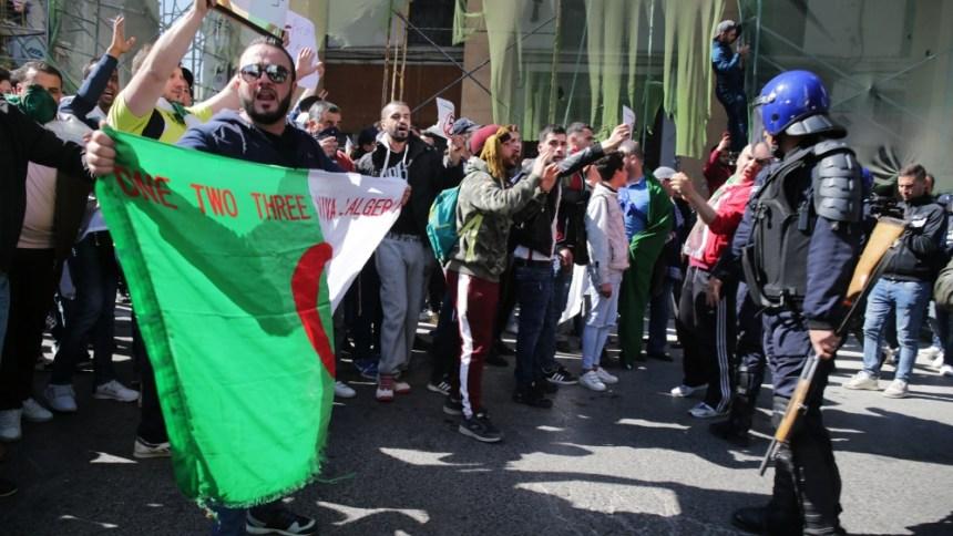 Algeria protests (Photo Credit: Al Jazeera)