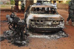 Attack on Edo police station