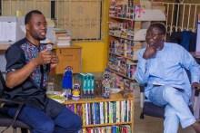 Chigozie Obioma and Kunle Ajibade