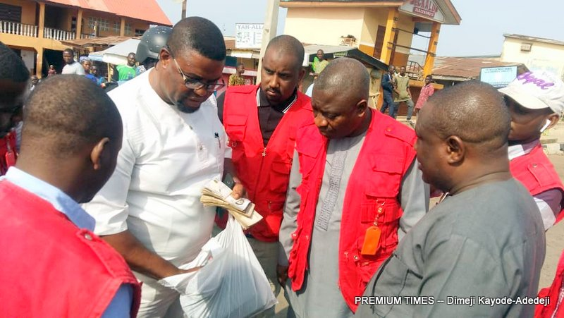 Johnson Sotayo of the APM arrested by the EFCC