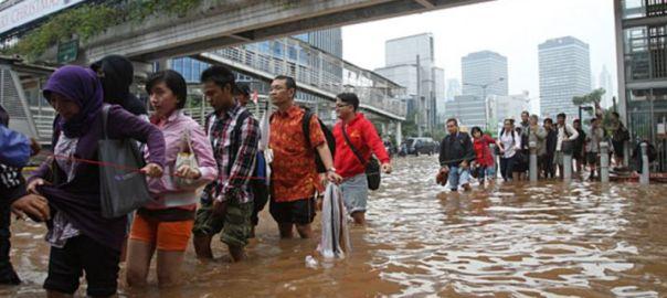 Indonesia flood (Photo Credit: India TV)