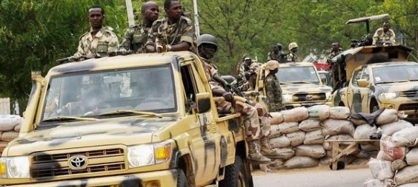 Nigerian Army fighting Boko Haram