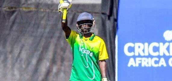 Olaleye, Cricket Nigeria U19