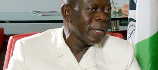 APC National Chairman Adams Oshiomole. [PHOTO CREDIT: ThisdayLIVE]