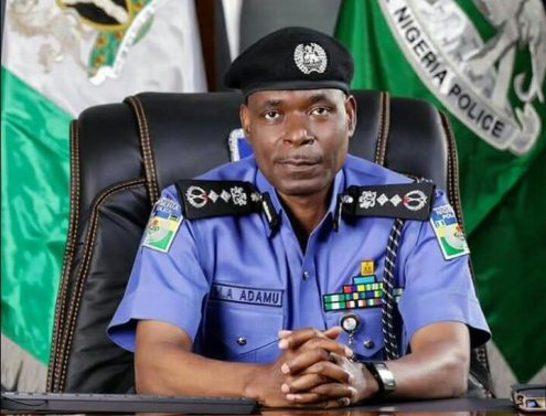 The Police Inspector-General (IGP), Mohammed Adamu. [PHOTO CREDIT: Official twitter handle of the Nigerian Police]