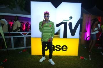 Reekado Banks at MTV Base 14th year anniversary celebration