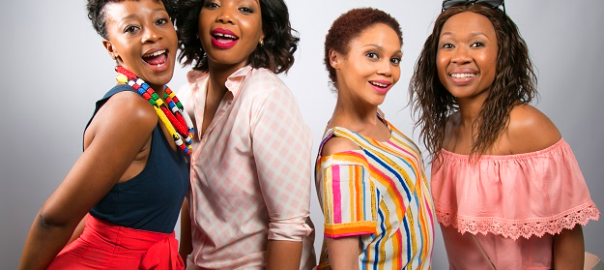 Salamina Mosese, Thembisa Mdoda, Dineo Ranaka, and Kay Smith are the lead cast in 'Baby Mamas' film