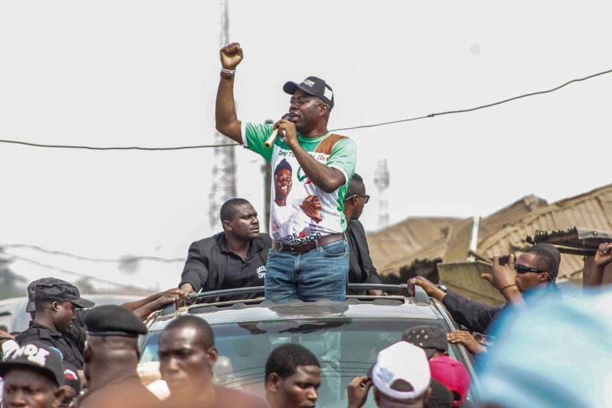 Seyi Makinde, Oyo PDP governorship candidate
