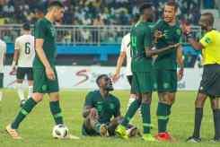 Super Eagles against Egypt PHOTO CREDIT PREMIUM TIMES