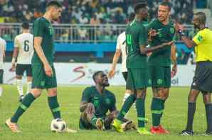 Super Eagles against Egypt PHOTO CREDIT PREMIUM TIMES