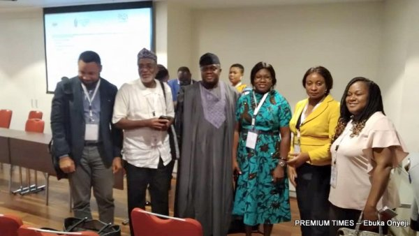 The Nigeria delegation to the Africa Health Agenda International Conference