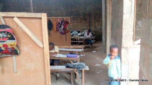 Zion Africa school annex full length of class room block for all students