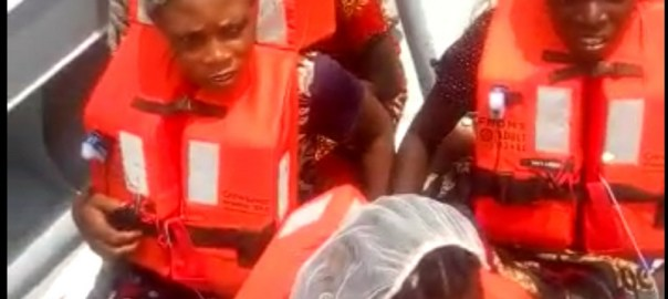 Navy rescues two-month-old baby, 11 others from drowning