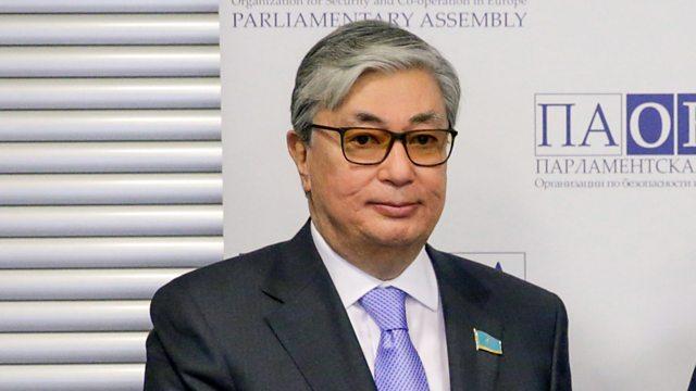 Kazakhstan's new President, Kassym-Jomart Tokayev[PHOTO CREDIT: BBC]