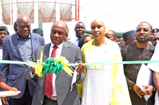 Minister of Transportation, Rotimi Amaechi commissions Amaechi commends NPAs marine simulation centre.
