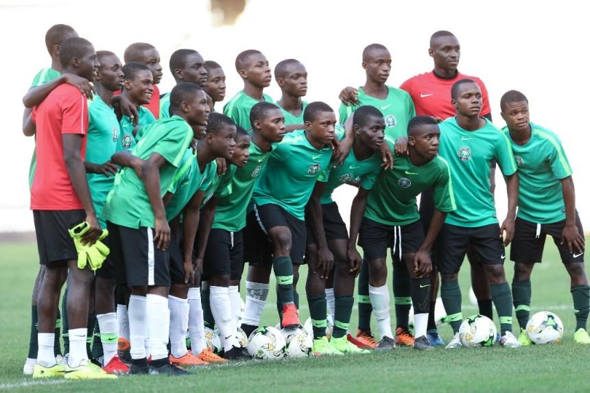 Nigeria's U17 Footbal team, Golden Eaglets (Photo Credit: Cafonline.com)