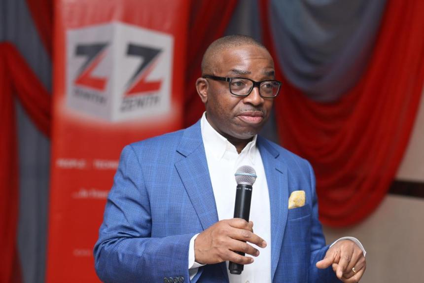 Ebenezer Onyeagwu, Zenith Bank CEO [Photo: Nigerian News Direct]