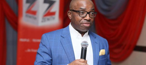 Ebenezer Onyeagwu, Zenith Bank CEO [Photo: Nigerian News Direct]