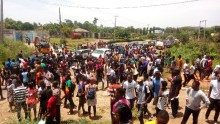 Fuoye students protest over lack of power supply