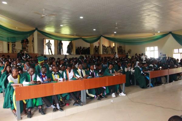 FUOYE holds 8th matriculation ceremony [Photo: Ajala Samuel Akindele]