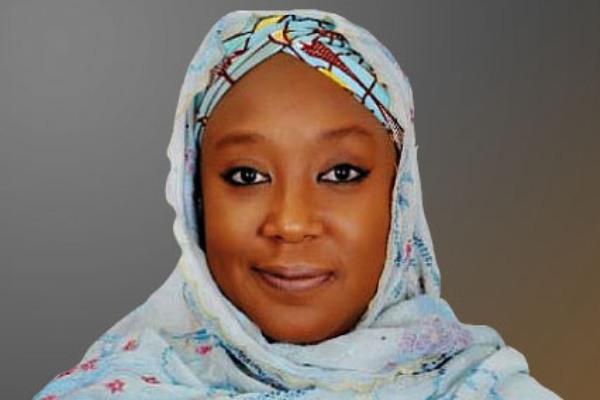 The wife of a former governor of Yobe State, Khadija Bukar-Abba. [PHOTO CREDIT: Leadership Newspaper]