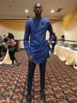 Mubarak Bakare is the tallest model in Sub-Saharan Africa (Photo by Jayne Augoye)