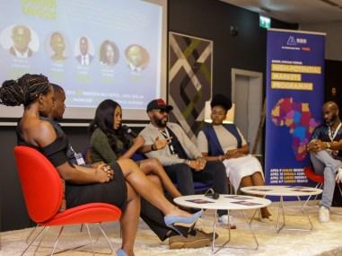 Panel 1 _ L-R Laverine Thomas, Wale Davies, Yemisi Falaye, Michael Ugwu, Waje iruobe and Nosa Dag Aghayere