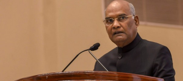 President Ram Nath Kovind[PHOTO CREDIT: the new indian express]