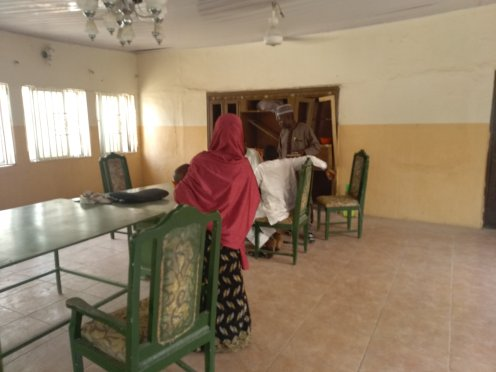 A victim of force marriage at office