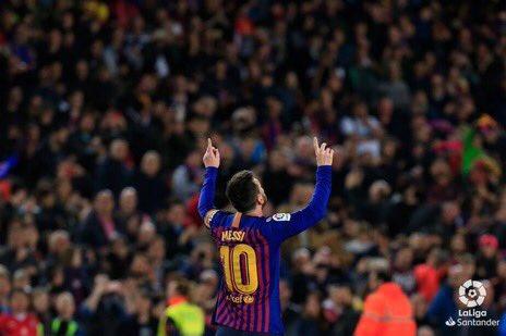 Lionel Messi [Photo: @FCBarcelona]
