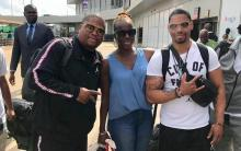American R&B trio, Next, arrives Lagos