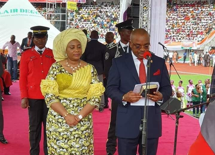 #2019Inauguration: Governor of Akwa Ibom, Udom Emmanuel